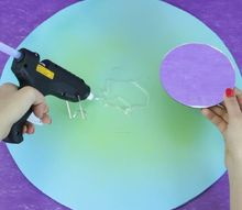 craft a mirror from plastic spoons, crafts, home decor