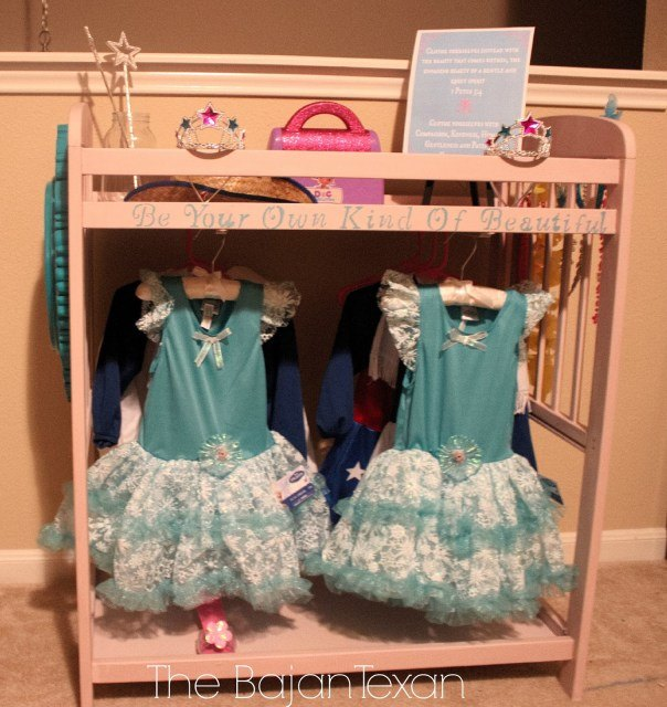 Changing Table To Diy Dress Up Station Tutorial Hometalk