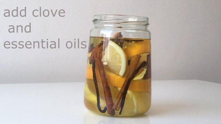 homemade essential oil air freshener