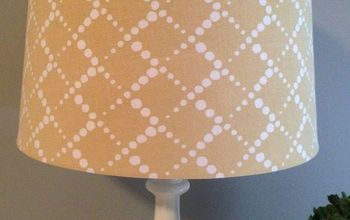Quick and Easy DIY Spray-Painted Lamps