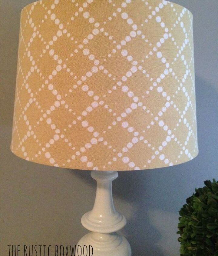 diy spray painted lamps, lighting