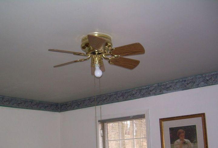 q how do i make a ceiling fan light cover, wall decor