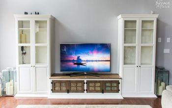 DIY Built-in Media Console