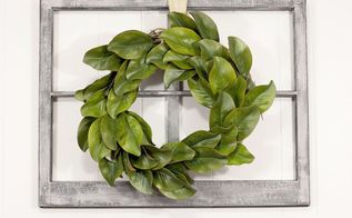 a 16 diy magnolia wreath, crafts, flowers, gardening, wreaths