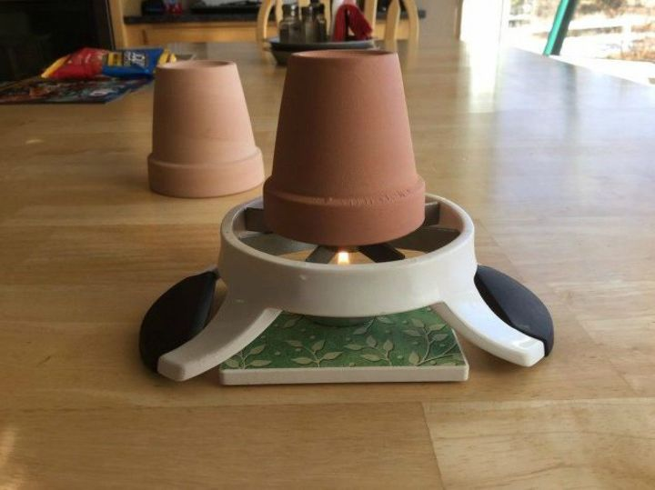 s 10 clever ways to heat up your home on a budget, home decor, Build a desk size personal space heater
