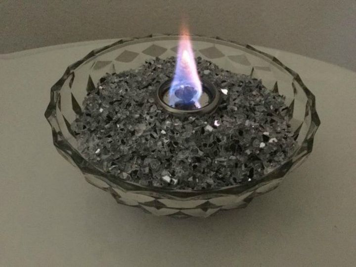 s 10 clever ways to heat up your home on a budget, home decor, Make a mini indoor fire bowl