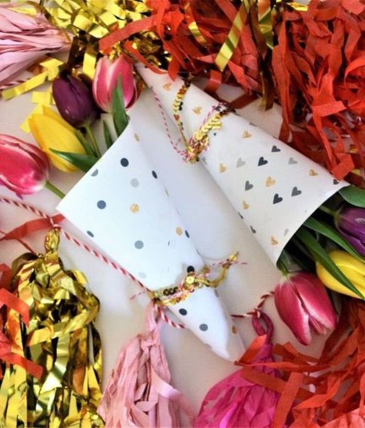 free printable valentine s day flower wrappers, gardening, seasonal holiday decor, valentines day ideas