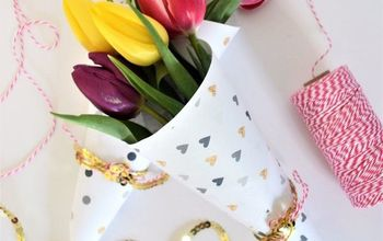 FREE PRINTABLE VALENTINE'S DAY FLOWER WRAPPERS