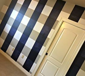 Nice how to paint a buffalo check accent wall home decor how to