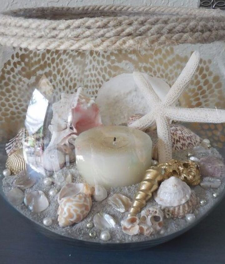 candle makeover, crafts, how to, Before