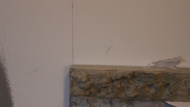 Diy Airstone Veneer Stone Accent Wall Hometalk