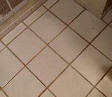 q finally my bathroom floor looks like it did 20 years ago, bathroom ideas, flooring, BEFORE