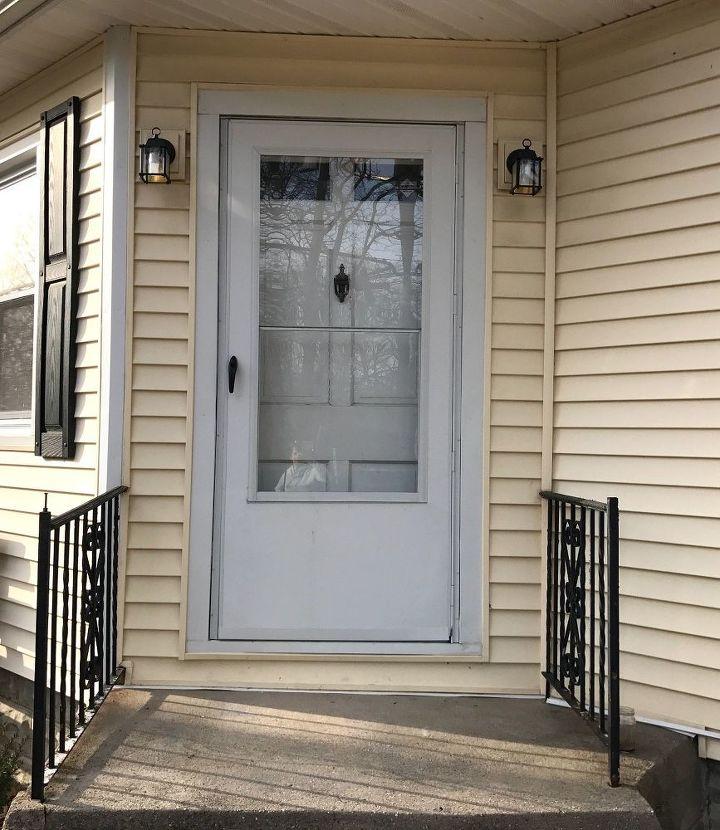 Front Door Makeover Hometalk