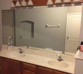 Q Bathroom Vanity Revamp, Bathroom Ideas, Before