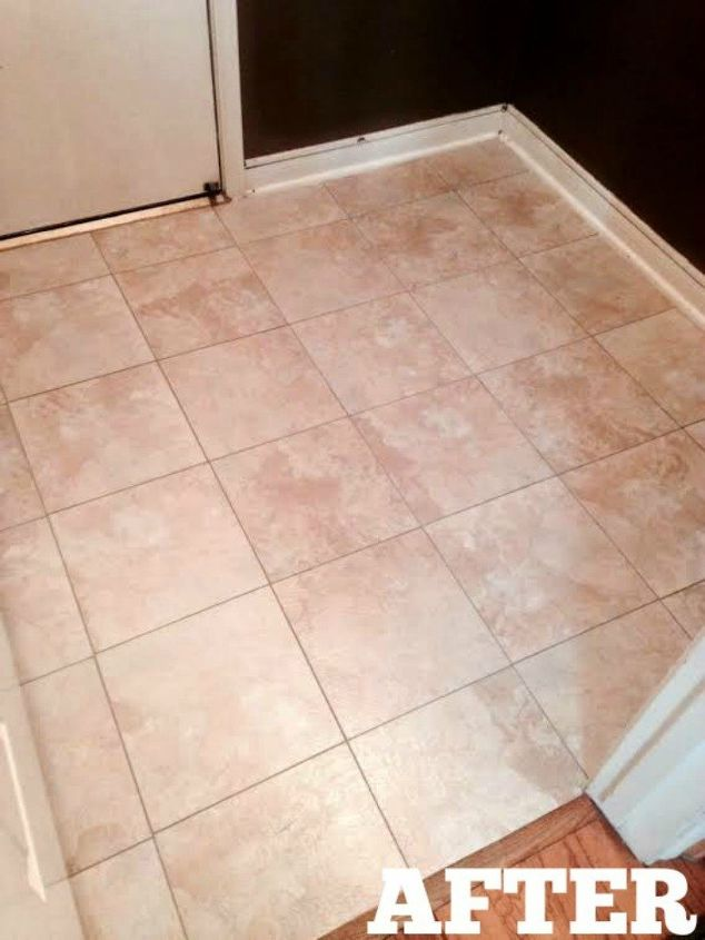 s these 12 ideas will change the way you see vinyl flooring, flooring, Cover up your old tiles with easy vinyl