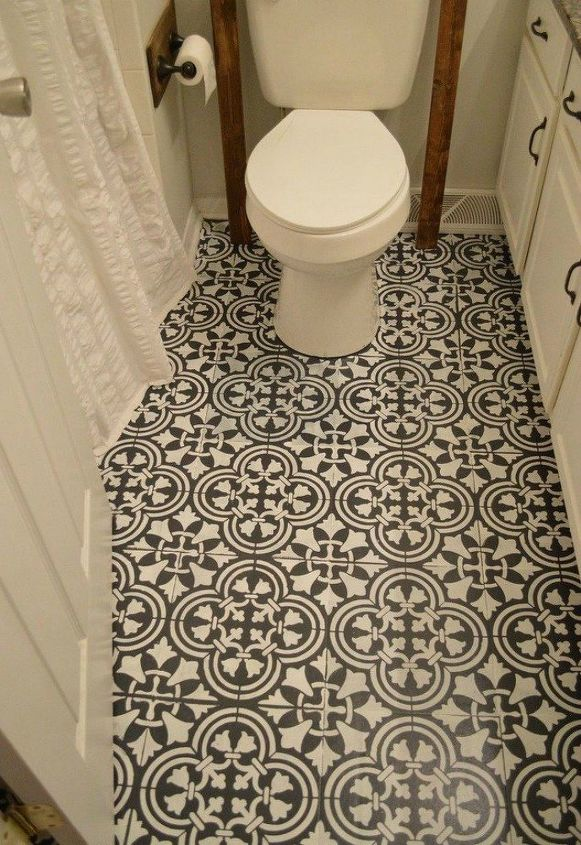 s these 12 ideas will change the way you see vinyl flooring, flooring, Or turn it into intricate tiles