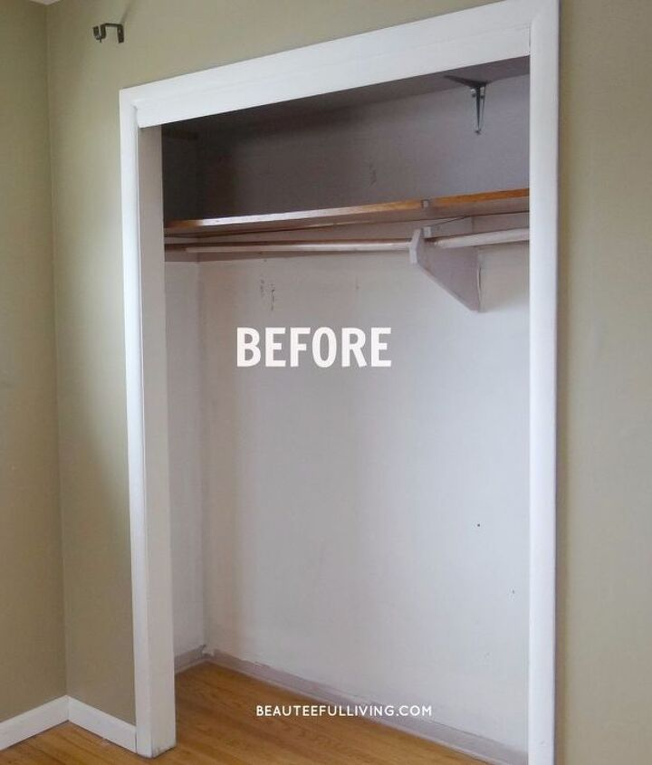 old closet completely reimagined and transformed, closet
