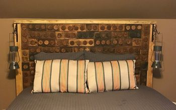 Wood Lego Headboard