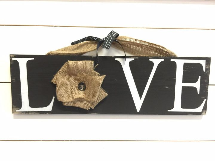 love sign tutorial, crafts, how to