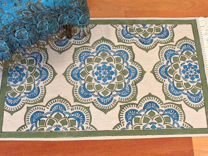 make a rug, reupholster