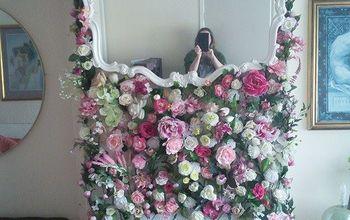 flowery fireplace updo, fireplaces mantels