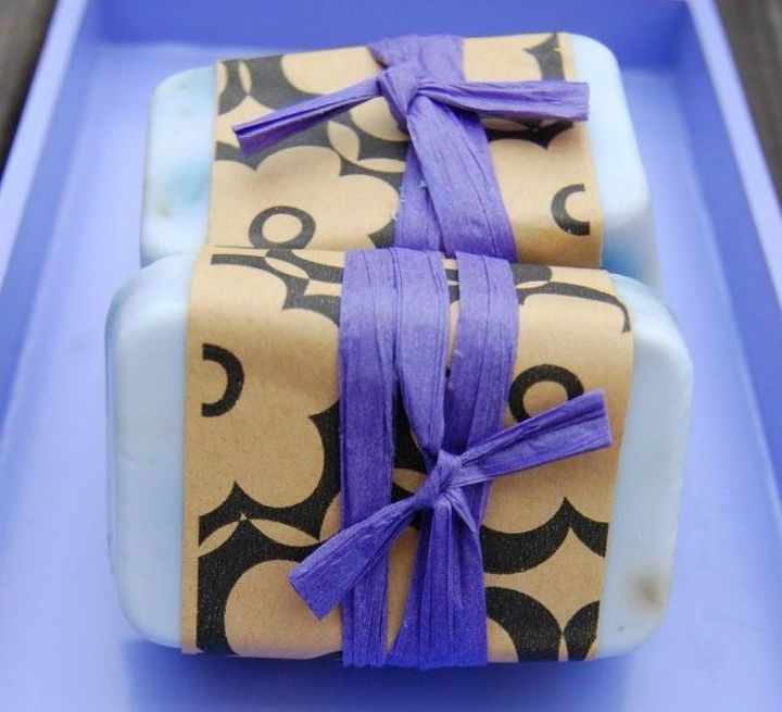 s homemade soaps you ll want to give as gifts all year round, These lavender bars for mom