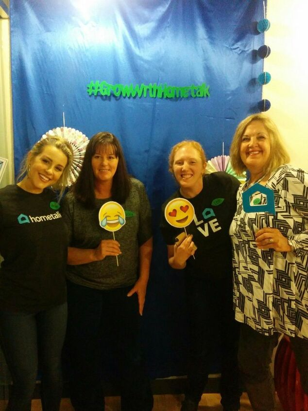 e hometalk hq fun day with some hometalkers