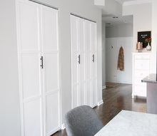 how to add trim to plain bifold doors, doors, how to