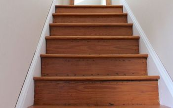 Refinishing Our Farmhouse Stairs
