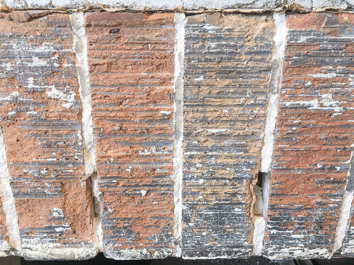how to prep a brick fireplace for tile, concrete masonry, fireplaces mantels, how to