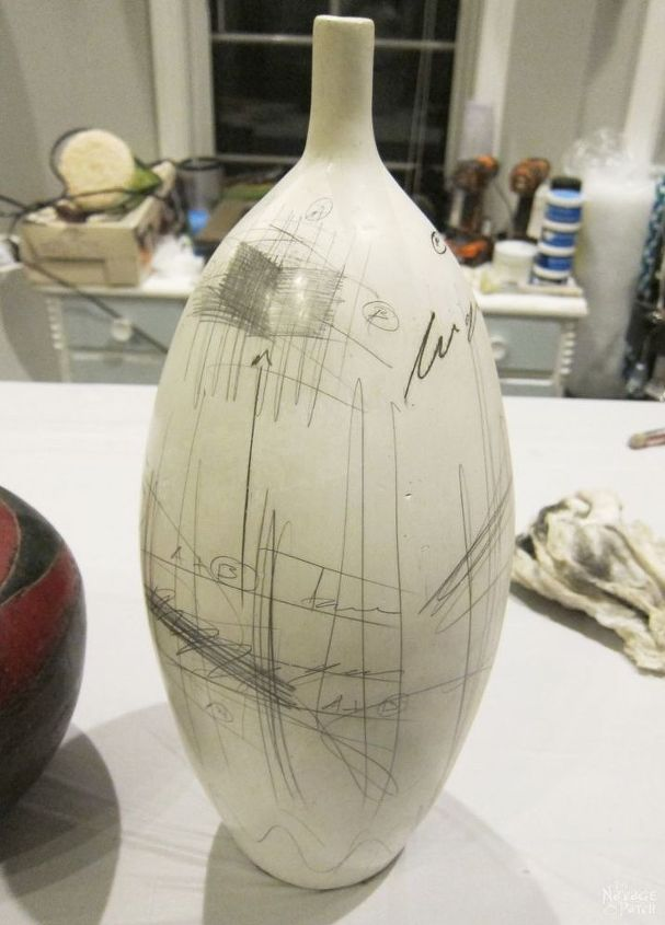 Pottery Barn Inspired Ceramic Vase Makeover Hometalk