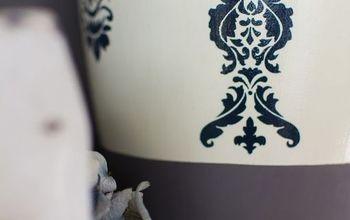 pottery barn inspired ceramic vase makeover, outdoor living