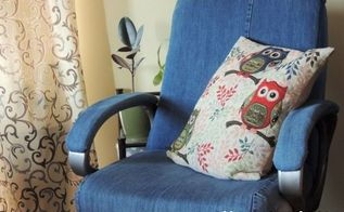 fancy makeover jeans cover for an office chair