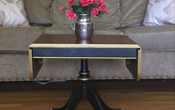 Vintage Coffee Table Updo!