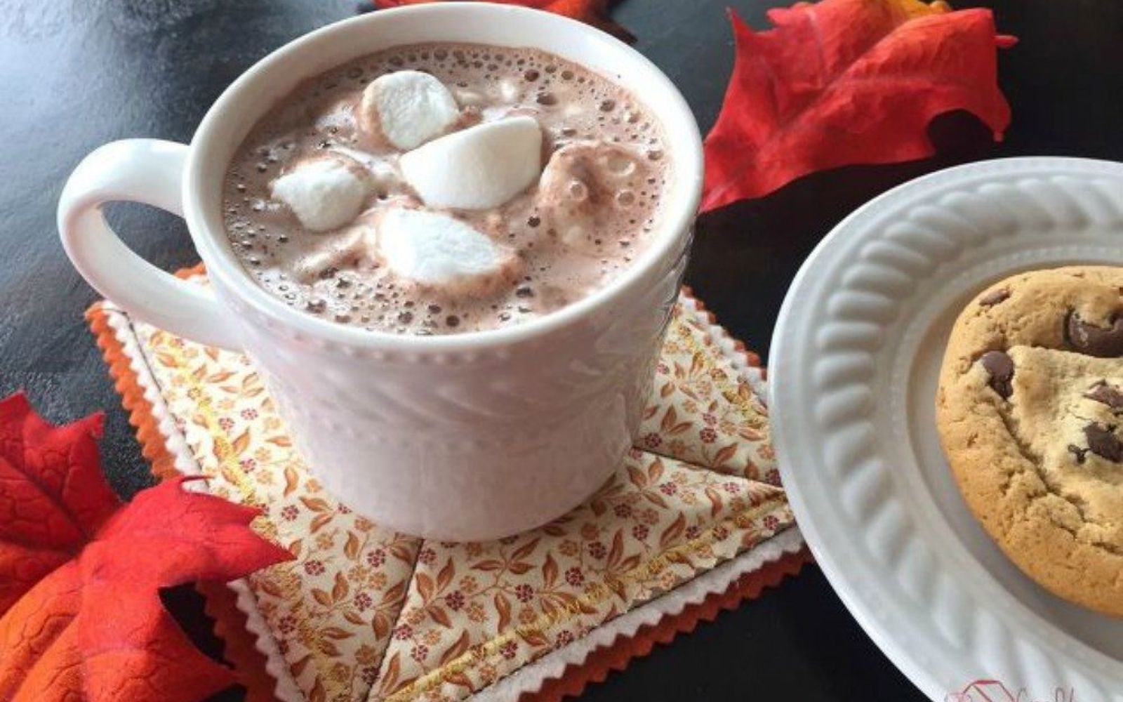 s 11 ways you never thought of using fabric in your kitchen, kitchen design, reupholster, As gorgeous coasters for hot cocoa mugs