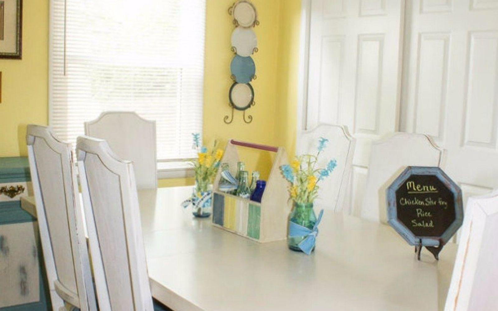 s 11 ways you never thought of using fabric in your kitchen, kitchen design, reupholster, As an improved bright window valance