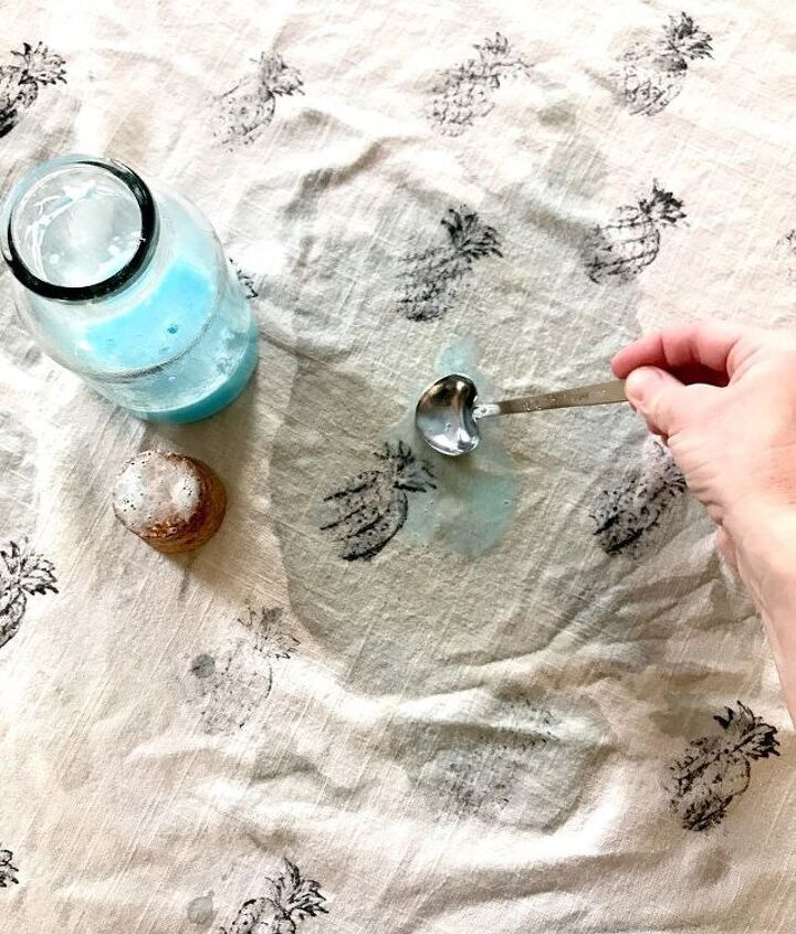 stain remover made from household items