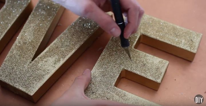 diy marquee sign love sign, crafts