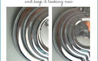 simple cleaning trick how to remove rust from chrome in the bathroom, bathroom ideas, cleaning tips, how to