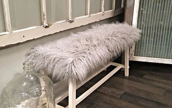 How to Recover a Garage Sale Bench in FUR