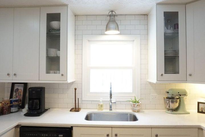 subway tile backsplash step by step tutorial part one hometalk