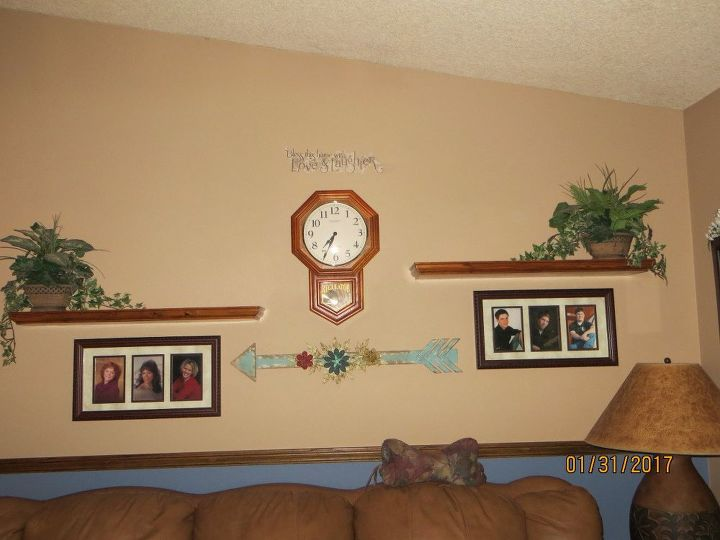 Livingroom Wall Up Date With Diy Ideas Hometalk