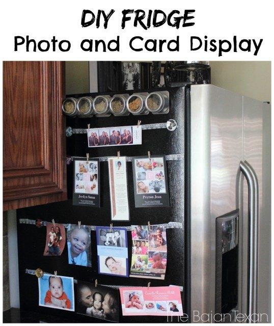 diy fridge photo display how to showcase your photos cards on fridg, appliances, how to