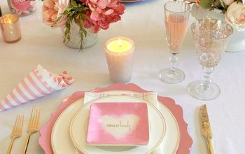 Chic Valentine's Day Table