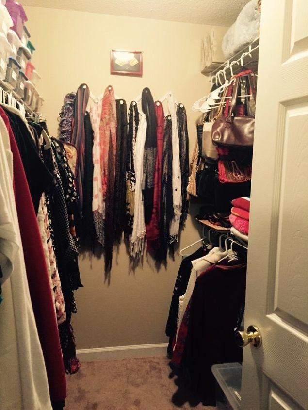 divine dressing room from a boring closet, closet