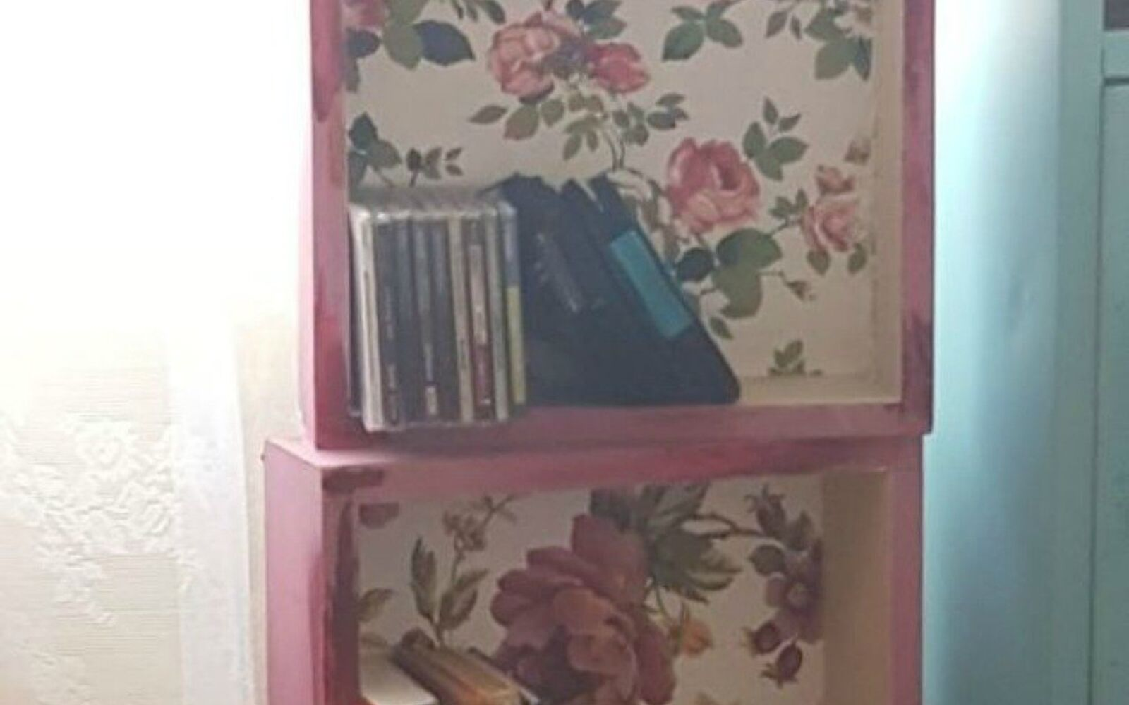s stop everything these bookshelf redos are ah mazing, shelving ideas, storage ideas, Repurpose old drawers stack them