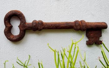 How to Make a Faux Giant Metal Key