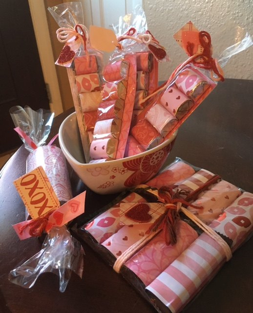 e diy valentine s day chocolates, seasonal holiday decor, valentines day ideas