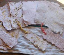 diy seed paper, gardening