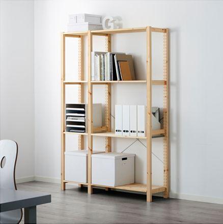 ikea hack customizing a shelving unit to add more function storage, shelving ideas, storage ideas